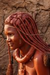 Young Himba Woman, Namibia
